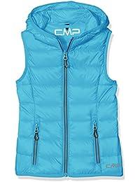 CMP - Chaleco de plumas para niña, otoño/invierno, niña, color Sea Blue, tamaño 17 años (176 cm)