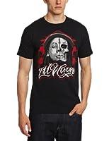 Bravado Lil Wayne - Sketch Skull Men's T-Shirt