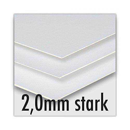 Siebdruckkarton - 2,0mm stark - 80x120cm