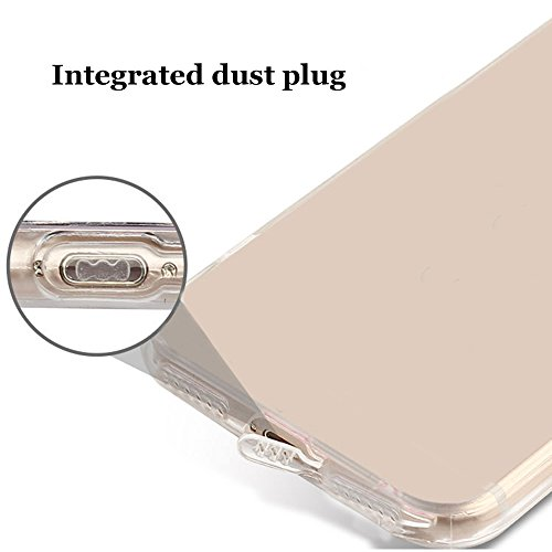 iPhone 7 Plus Case , Bonice iPhone 7 Plus Cover,Bonice Colorato Ultra Thin Morbido TPU Silicone Rubber Clear Trasparente Back Creativo Case –pulcino 02 model 1