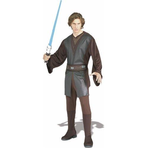 ar Wars' Kostüm für Herren Gr. STD u. XL, Größe:L (Anakin Skywalker Outfit)