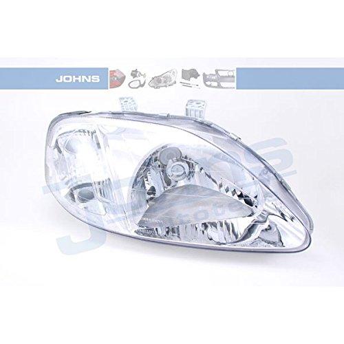 JOHNS Hauptscheinwerfer, 38 08 10-4 (2002 Honda Civic Scheinwerfer)