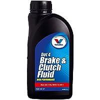Valvoline 1830190 Huile 841594 Liquide de Frein DOT 4 500 ml