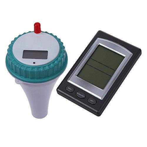 Sonline Termometro misuratore di temperatura tester wireless per acquario piscina