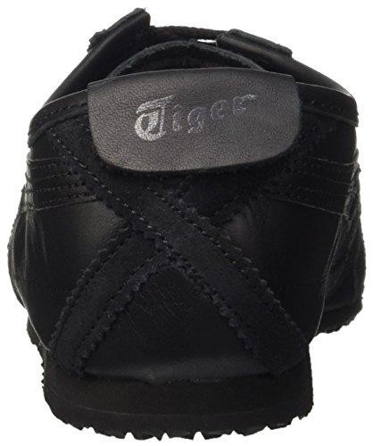 Onistuka Tiger Mexico 66, Scarpe da Ginnastica Unisex Adulto Nero (Black/Black)