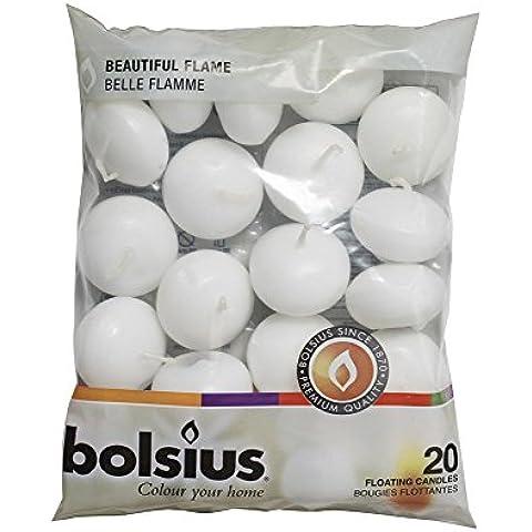Bolsius–Velas flotantes en Juego de bolsa de 20y regalo