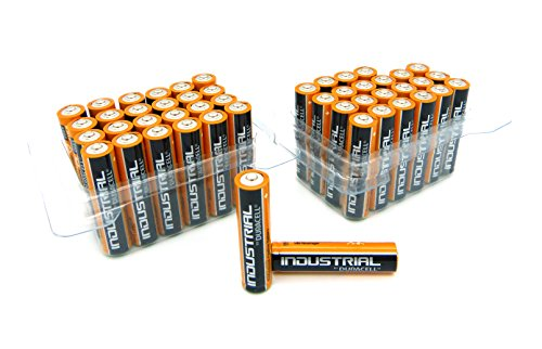 Duracell Pack de 24 piles alcalines 48 x Duracell Industrial MX1500 AAA