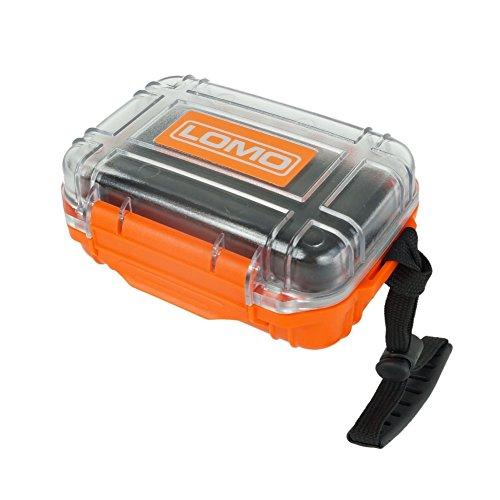 Lomo Trockenbox 17 Mini-Größe / durchsichtig. Kajak Wasserdichte Aufbewahrungsbox.