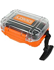 Lomo Drybox 17 Mini Size Transparent - Orange / Clear. Kayak Dry Box