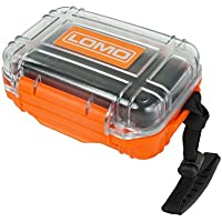 Lomo Drybox 17 Mini Size Transparent - Orange / Clear. Kayak Dry Box