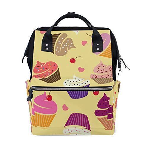 Bolsa para pañales para tarta de helado, mochila de viaje, mochila grande para la escuela, portátil...