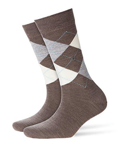 BURLINGTON Damen Socken Marylebone - Schurwollmischung, 1 Paar, Braun (Umber 5815), Größe: 36-41