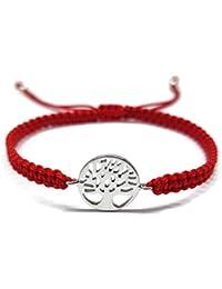 7e074b918f18 Mystic Jewels By Dalia - Pulsera 925 Plata de Ley - arbol de la Vida -