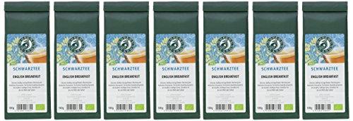 Queensland Schwarztee English Breakfast lose, 7er Pack (7 x 100 g) – Bio