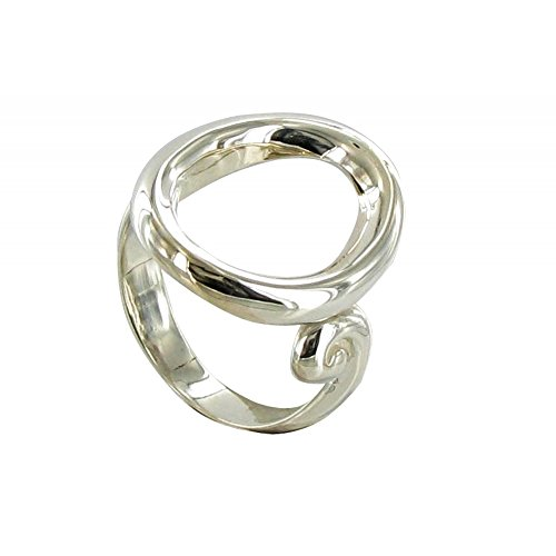 Les Poulettes Jewels - Sterling Silver Oval Ring