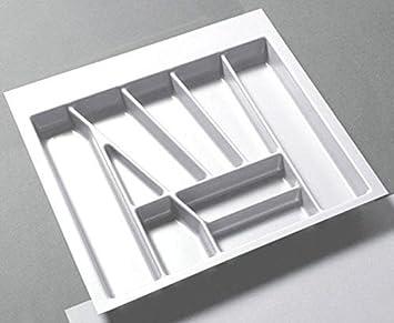 Besteckeinsatz Multi 60 Weiss Besteckkasten Zuschneidbar