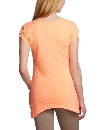 Timezone 12-0266 - Maglietta donna con scollo a V, a maniche corte Rosa pallido