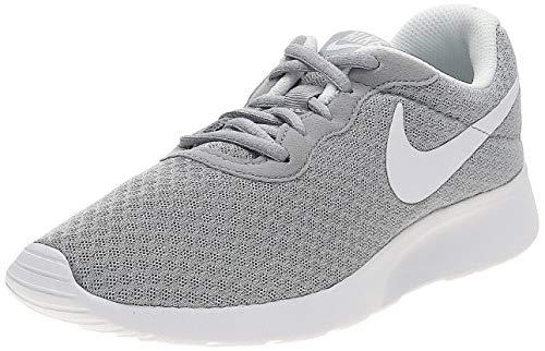 Nike Tanjun, Zapatillas Running Mujer, Gris Wolf Grey/White