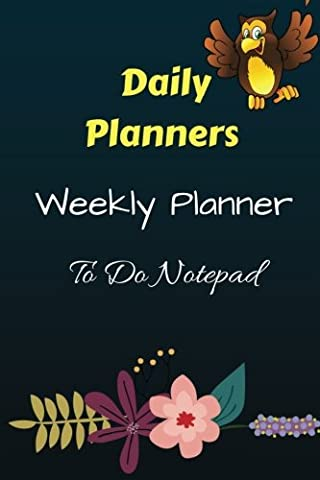 Daily Planners Weekly Planner To Do Notepad: Planner and Journal Organizers for Men and Women