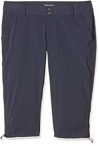 Columbia Saturday Trail II Knee Capri Hose, Blau (India Ink), Gr. FR : 36 (Taille Fabricant : 4) (Columbia Frauen Capris)