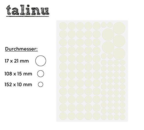 TALINU-Cielo-de-estrellas-de-277-puntos-luminosos-pegatinas-fluorescentes-luz-extra-fuerte-y-de-gran-duracin-2-aos-de-garanta-de-satisfaccin