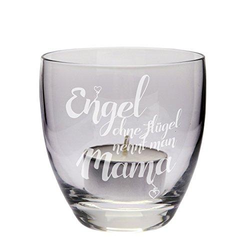"""Teelicht """"Engel ohne Flügel nennt man Mama"""", Windlicht, Geschenkidee, Muttertagsgeschenk, Geschenk zum Muttertag, Geburtstag, zu Weihnachten"""