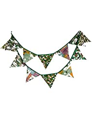 10.5 Feet Pennant String Banner Flag Tente extérieure Triangle Flag Camouflage Style