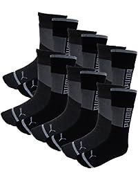 Puma Herren Promo Socken Wording 12er Pack