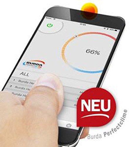 Infrarotstrahler Burda Term, 2000 Watt, Steuerung über Handy App – anthrazit - 5