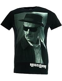 Breaking Bad Heisenberg T-shirt Black Official Licensed TV