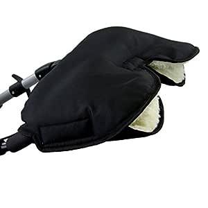 Kinderwagen Sack Decke Mit Handw/ärmer Handschuhh/ülle F/ür Baby /& Mama Universeller Kinderwagen Schlafsack Warmer Samtbeutel mit Handmuffe Handw/ärmer