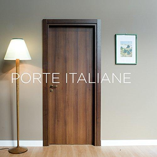 Porte interne noce nazionale - compreso telaio e mostrine (80x210 sinistra)