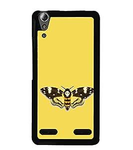 Fuson Designer Back Case Cover for Lenovo A6000 Plus :: Lenovo A6000+ :: Lenovo A6000 (Flying Insect Colourful Designer Garden India)