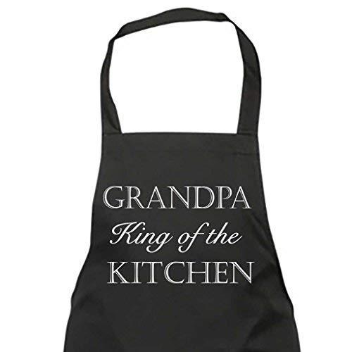 El abuelo King cocina negro delantal regalo Chef cocina