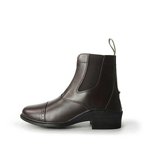 Brogini Front Zip Paddock Boot Marrone - marrone