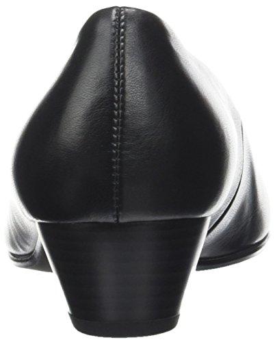Gabor Comfort Basic, Escarpins Femme Noir (51 Schwarz)