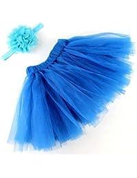6883cb10a3 Falda Tul niña Absolute Traje de Foto de Bebe Vestidos Barbie Fashionistas  Vestido de Princesa Bonita
