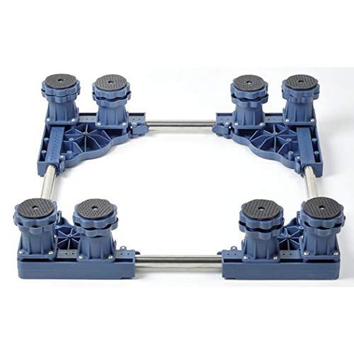XMZFQ Heavy Duty 4/8/12 Fuß Multi-Funktionen Höhenverstellbarer Fuß für Kühlschränke, Waschmaschinen, Klimaanlagen, Schränke,8feet