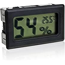 Gosear Mini Digital LCD Termómetro Higrómetro Incar Inalámbrico / Humedad Medidor de Temperatura Interior