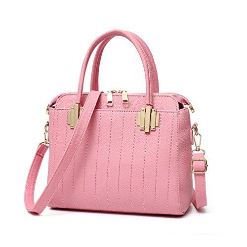 XibeiTrade - Borsa a tracolla Ragazza donna Pink