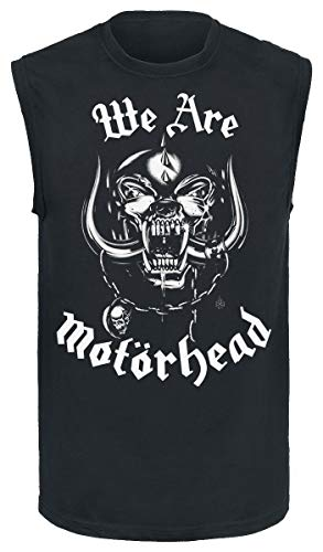 Motörhead We Are Top Tirante Ancho Negro M
