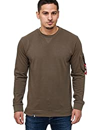 Indicode Homme Sweatshirt à manches longues Pull Fresna