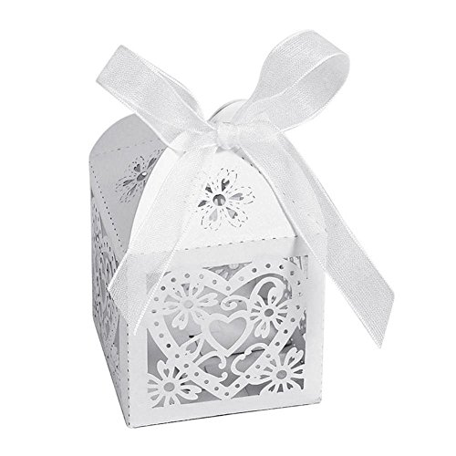 cs Set Colorful Cute Candy Box Hollow Carriage Love Heart Party Wedding Baby Shower Favors - Bags Baskets Shower Thank Netting Stickers Soaps Bridal Boys Guests Favor L ()