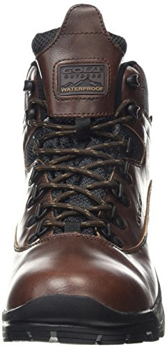 Gola - Atlantika, Scarpine primi passi Uomo Marrone (Brown (Dark Brown/Black))