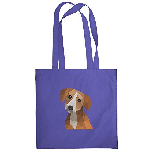 Texlab–Poligono cane–Sacchetto di stoffa Marine