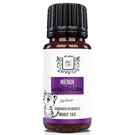 8 Sin Nutrition – Nierox Globuli für Haustiere (Hund, Katze, Pferd) – Tiere, Niere, Nierenfutter – 100% natürlich – 10g
