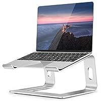 Soporte para Portátil, Soporte Ordenadores Portátiles, Soporte para Laptop para Aluminium, Bases de Portátiles para Notebook PC Laptop MacBook, Mesa para Ordenador para 11-17 Pulgadas