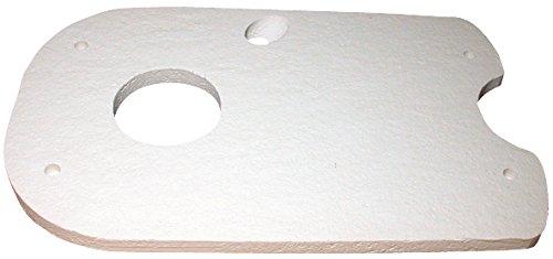 Isolierplatte Vaillant, 210688 VKO (unit) -/3 Brennertüre (hart)