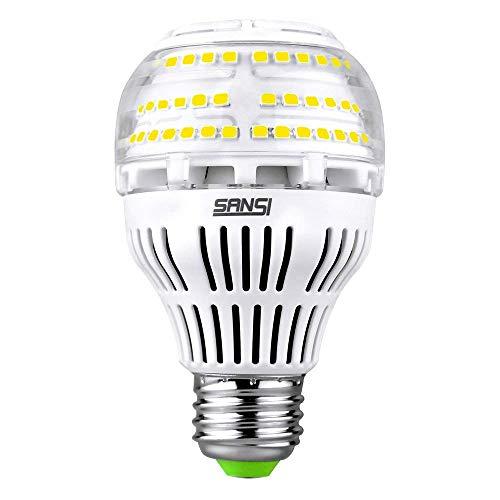 Sansi Ampoule LED Dimmable 2500 Lumens 20w (150W Incandescence équivalent), Ampoules Basse Consommation LED A19, Projecteur LED 5000K Lumière du Jour