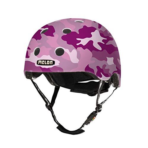 Melon Camouflage Fahrradschloss, Pink Camo, M-L